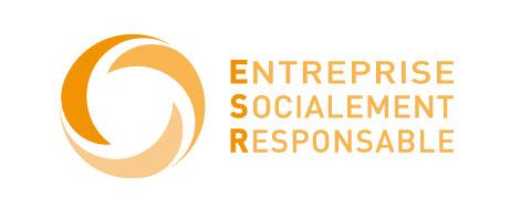 logo entreprise socialement responsable ESR