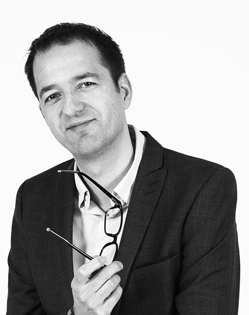 Agile Partner director portrait Sylvain Chery
