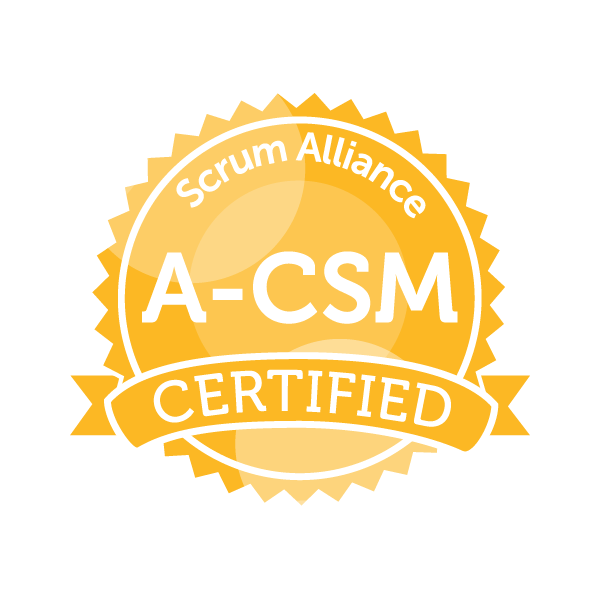 logo certified scrum master scrum alliance