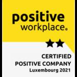label positive workplace 2 étoiles