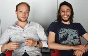 Louis and guillaume portrait team agile partner developers